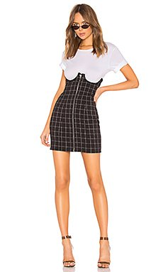 Lillian High Waisted Mini Skirt                                             h:ours
