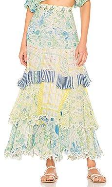 Odyssey Maxi Skirt                                             HEMANT AND NANDITA