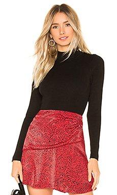 Kayla Long Sleeve Bodysuit                                             superdown