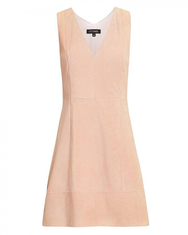 Sydney Suede Mini Dress