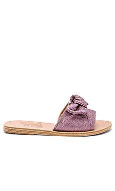 Taygete Bow Sandal                                             Ancient Greek Sandals