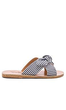 Thais Bow Slide                                             Ancient Greek Sandals