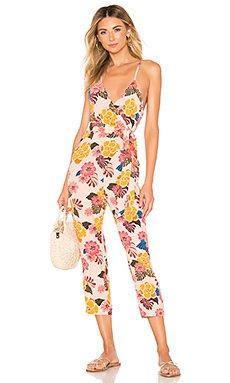 Brentwood Silk Jumpsuit                                             Acacia Swimwear