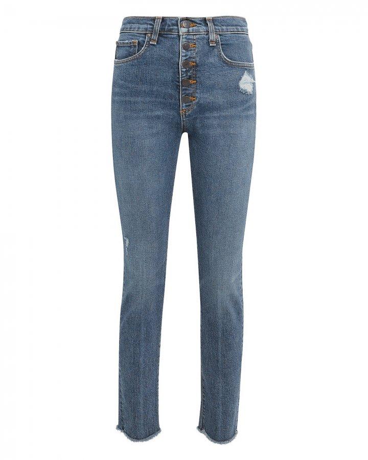Faye Frayed Jeans