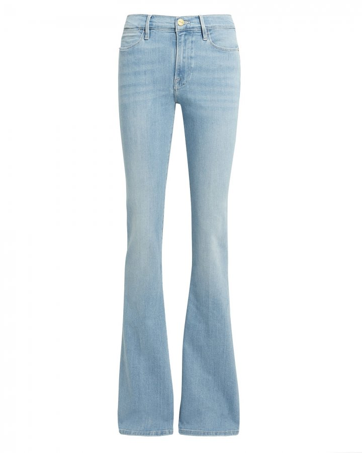 Le High Swiss Alps Flare Jeans