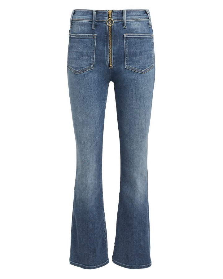 Patch XYZ Insider Ankle Hem Jeans