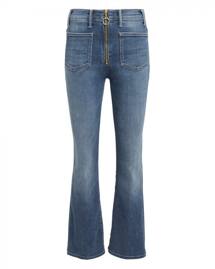 Patch XYZ Insider Ankle Hem Jeans