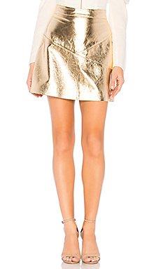 Maanasa Leather Skirt                                             NBD