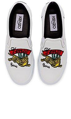 Jumping Tiger Skate Sneakers                                             Kenzo
