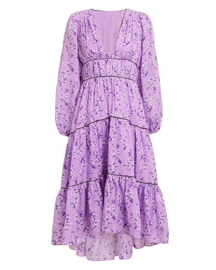 Joan Floral Dress