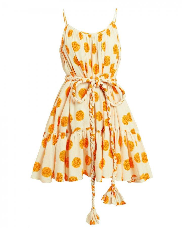 Nala Marigold Mini Dress