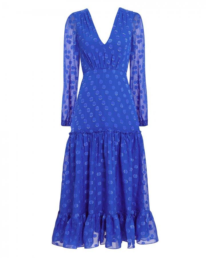 Devon Deep V Midi Dress