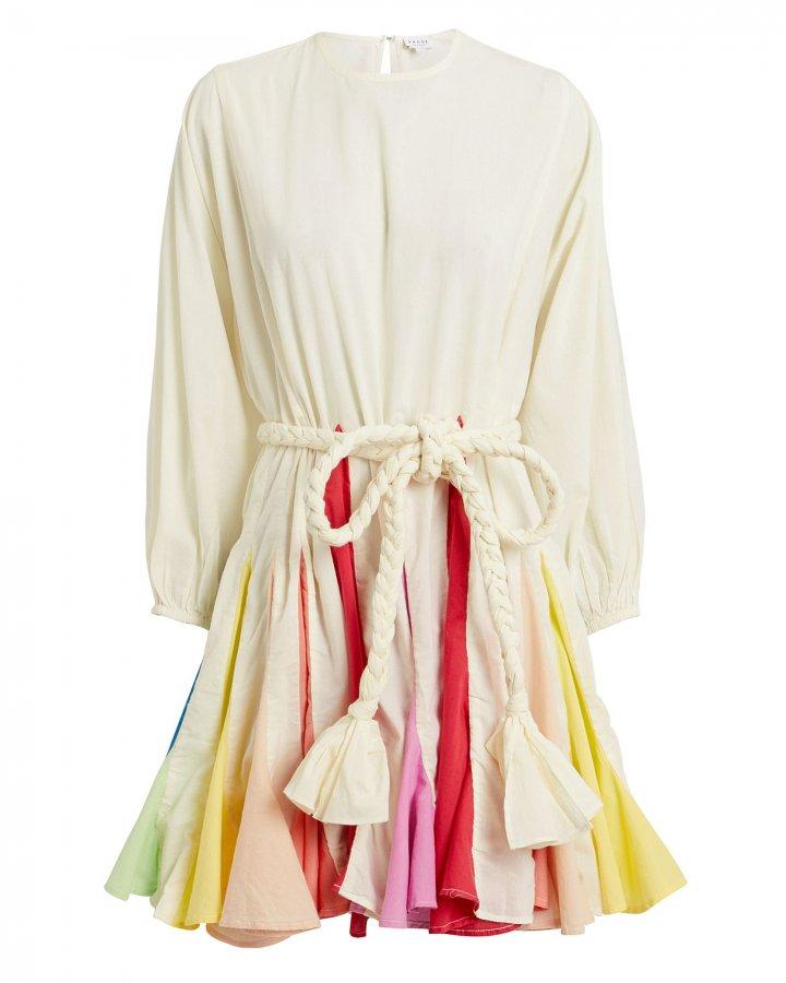 Ella Rainbow Mini Dress