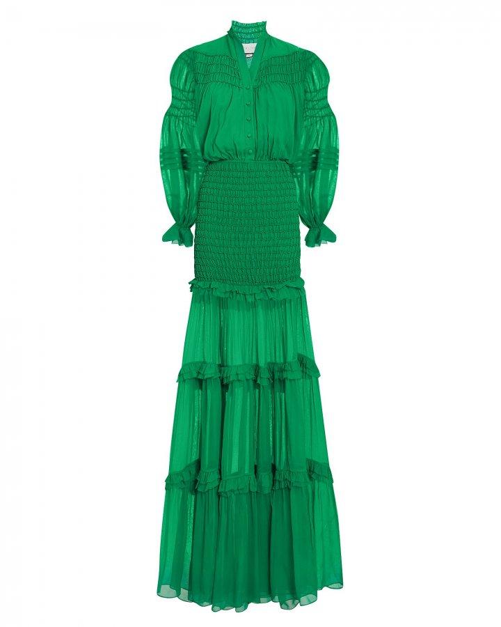 Sinclair Ruffle Gown