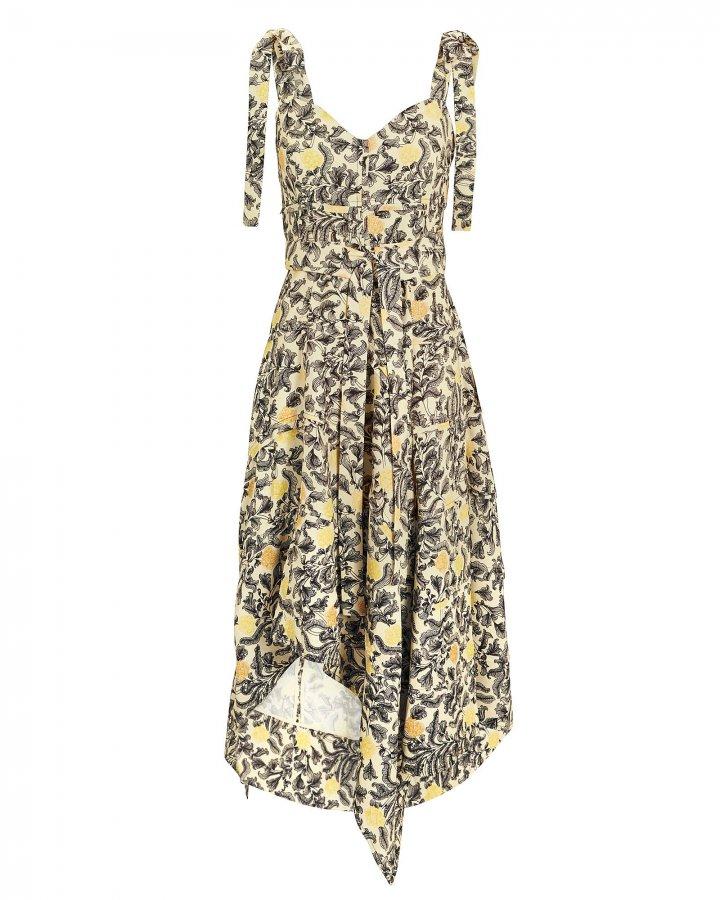 Cami Asymmetric Hem Dress