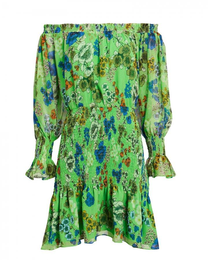 Malina Off Shoulder Smocked Dress
