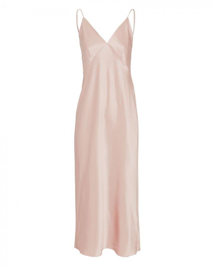 Issa Blush Slip Dress