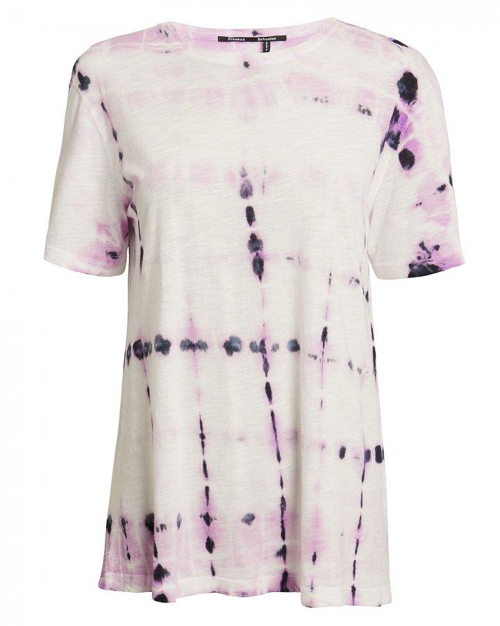 Lavender Tie-Dye Tissue T-Shirt