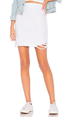 x REVOLVE Adalia Destroyed Skirt                                             NSF