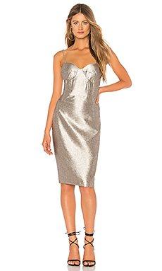 Shimmer Dress                                             Bardot