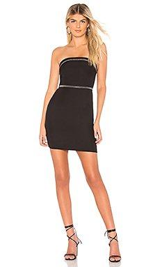 Raegan Strapless Mini Dress                                             by the way.