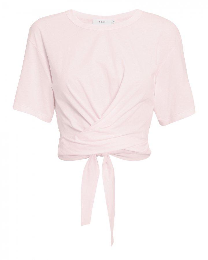 Jules Tie Back Light Pink T-Shirt