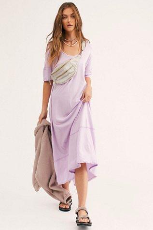 Pebble Beach Maxi T-Shirt Dress