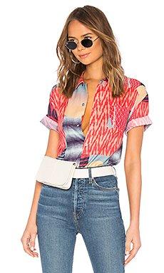 Hawaiian Shirt                                             DOUBLE RAINBOUU