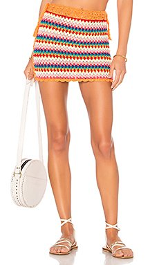 Over The Rainbow Skirt                                             Lovers + Friends