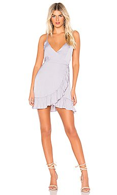 All My Love Shine Wrap Dress                                             Free People
