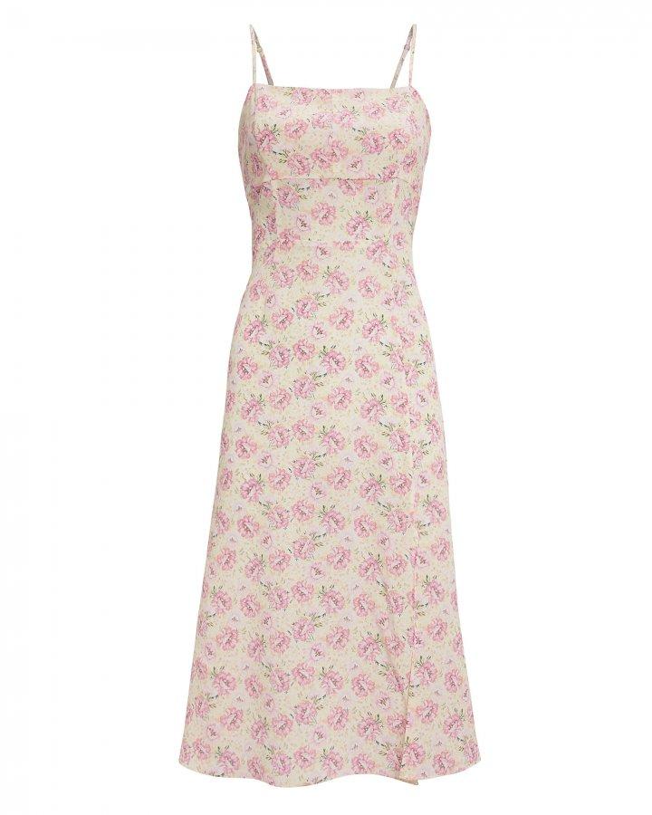 Olivia Printed Midi Dress