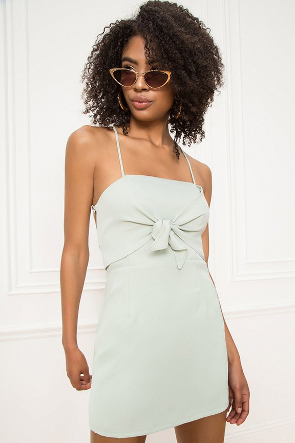 Thalia Bow Front Dress