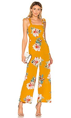 Adley Floral Jumpsuit                                             superdown