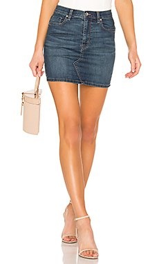Teagan Denim Skirt                                             Free People
