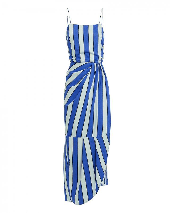 Striped Sarong Dress