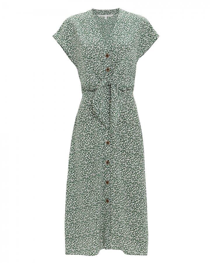 Giani Floral Midi Dress