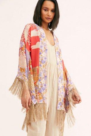 Willow Short Kimono