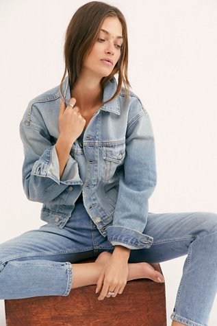 Boyish Harvey Cropped Oversized Jacket