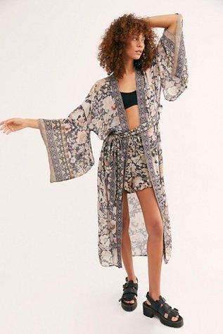 Amethyst Maxi Kimono