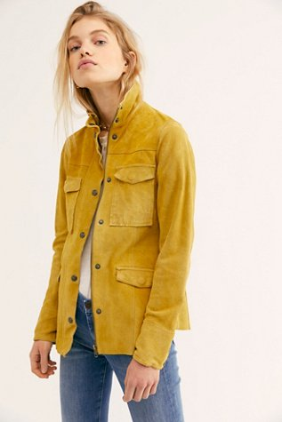 Kimberly Suede Shirt Jacket