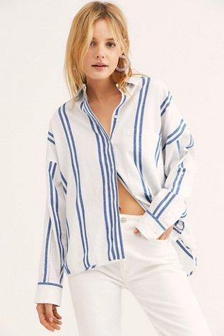 Wrangler Oversized Stripe Shirt