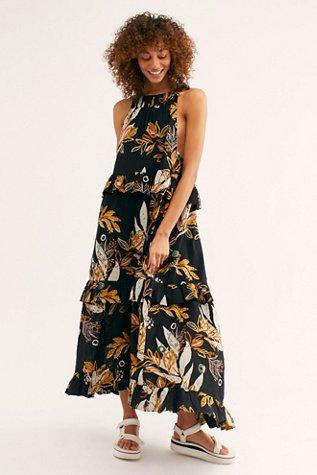 Anita Printed Maxi Dress
