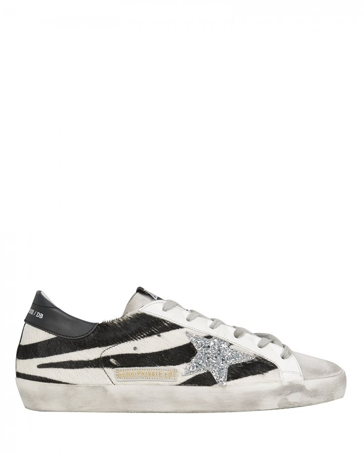 Superstar Zebra Low-Top Sneakers