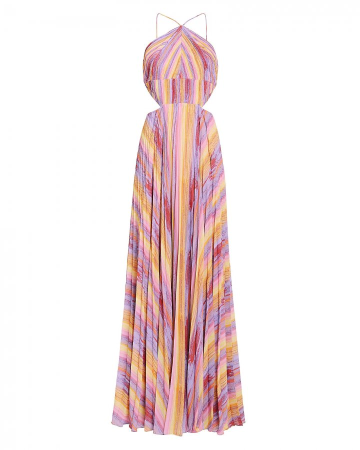 Janet Colorful Maxi Gown