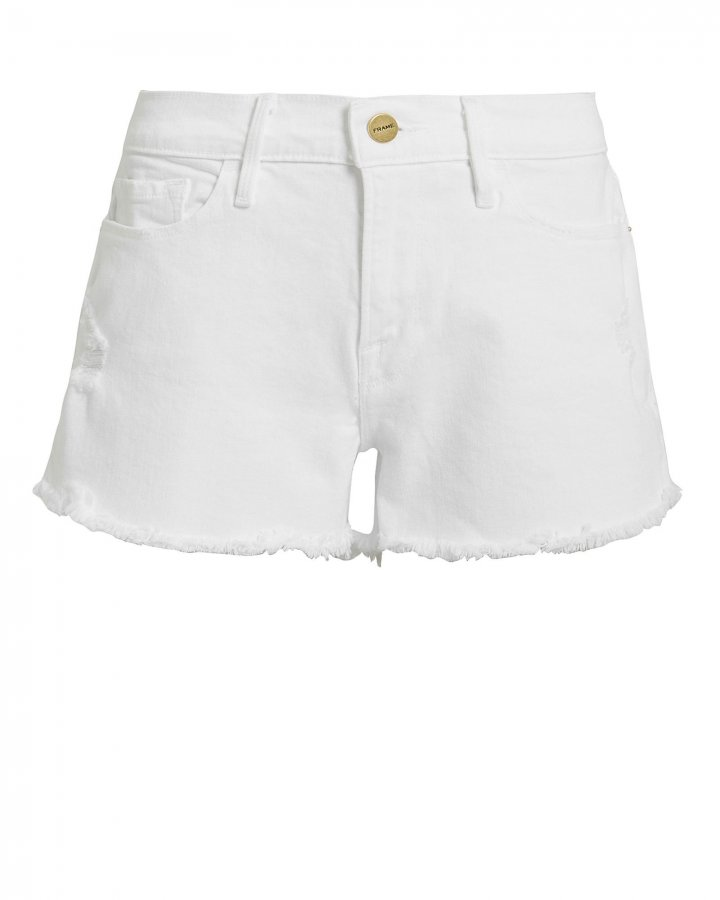 Le Cut-Off Denim Shorts