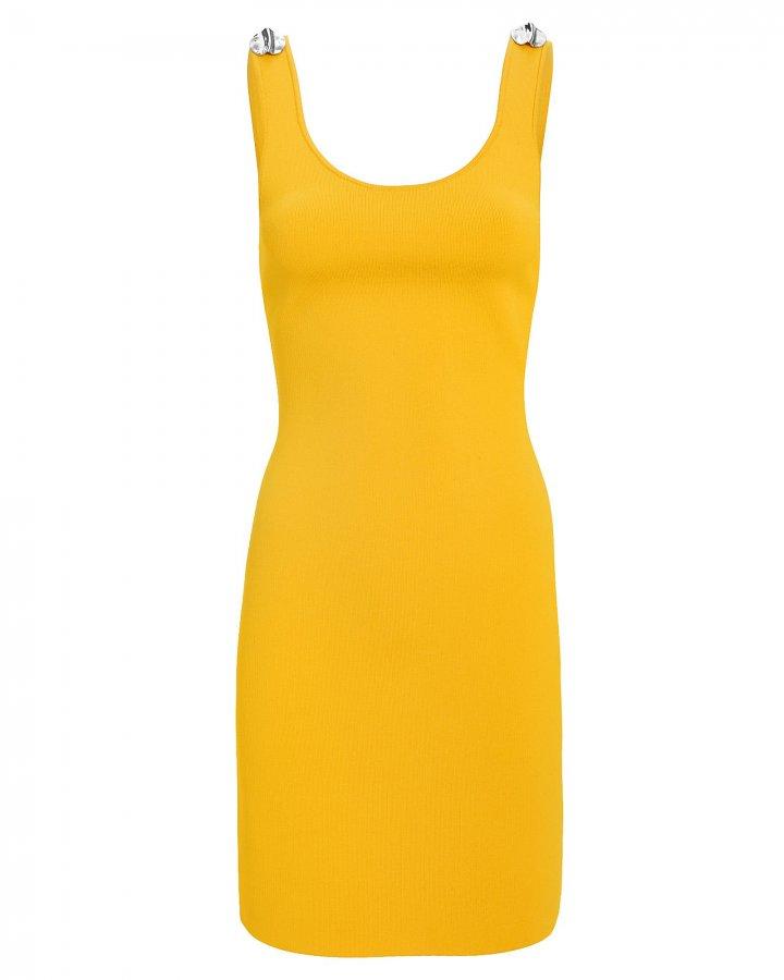 Mustard Mini Dress