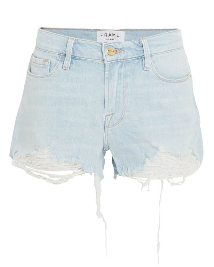 Le Cut-Off Hurrah Denim Shorts