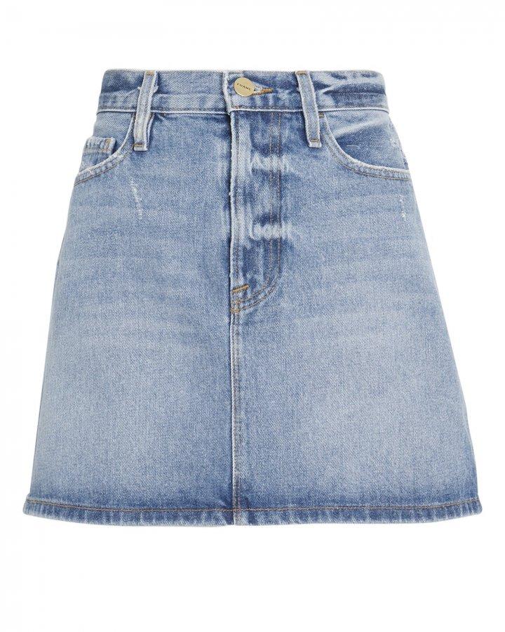 Le Mini Majorelle Denim Skirt
