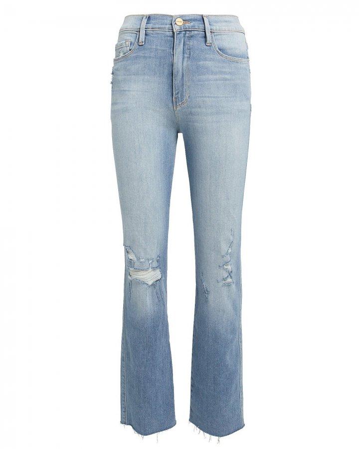 Le Sylvie Raw Edge Jeans
