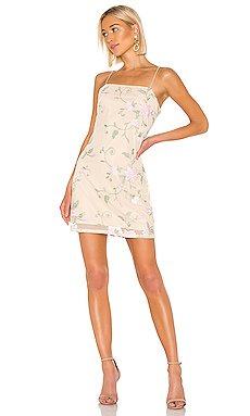 X REVOLVE Embroidered Mini Dress                     KENDALL + KYLIE